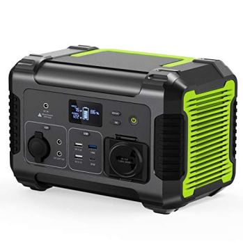 PAXCESS-Rockman-300-Portable-Power-Station-288Wh78000mAh-Backup-Lithium-Battery-110V300W-Pure-Sine-Wave-AC-Outlet-Solar-Generator-for-Outdoors-Camping-Travel-Hunting-Emergency