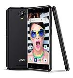 New YEZZ 5E Black - Unlocked Smartphone - 8GB + 1 GB, Android Oreo (Go Edition), 1 Year Warranty
