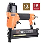 Valu-Air SF5040 2' 18 Gauge 2 in 1 Brad Nailer and Stapler with Carrying Case