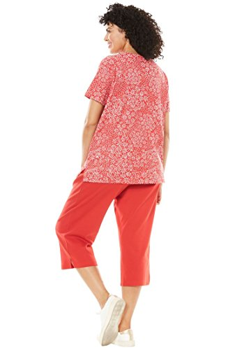 """41WOSYMUfyL relaxed-fit Kurta-styled tunic with non-cling ease allows for comfortable movement 28"""" length falls comfortably to just below the hips short sleeves"""
