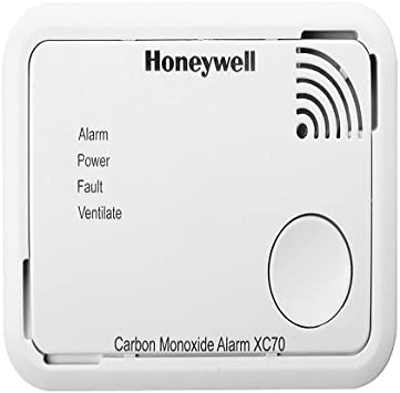 Honeywell 1901504901 Battery Operated Carbon Monoxide Detector White Amazon Co Uk Diy Tools