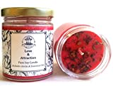 Love & Attraction 8 oz Soy Spell Candle Romance & Relationships Wiccan Pagan Hoodoo