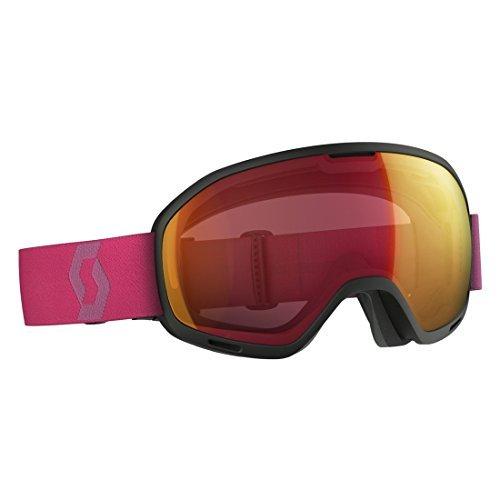 Scott 2016/17 Unlimited II OTG Snow Goggle - 244597 (Black/Berry Pink/Illuminator Red Chrome)