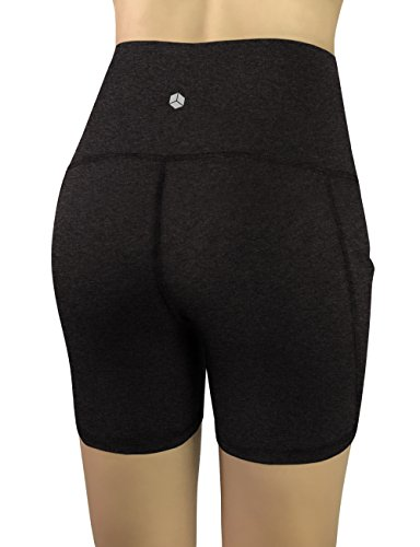REETOYO Women's High Waist Tummy Control Workout Running 4 Way Stretch Yoga Shorts Side Pockets 16 Fashion Online Shop gifts for her gifts for him womens full figure