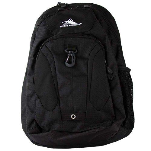 High Sierra RipRap Laptop Backpack - Black