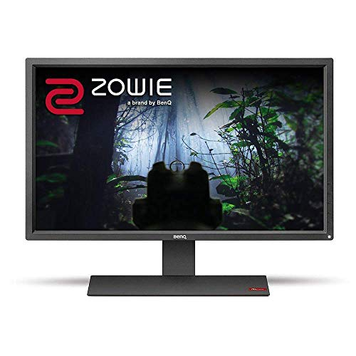 BenQ ZOWIE RL2755 27 Inch Full HD 1080p 1ms 75Hz eSports Console Gaming Monitor, Black Equalizer, Color Vibrance, Speakers, Dual HDMI