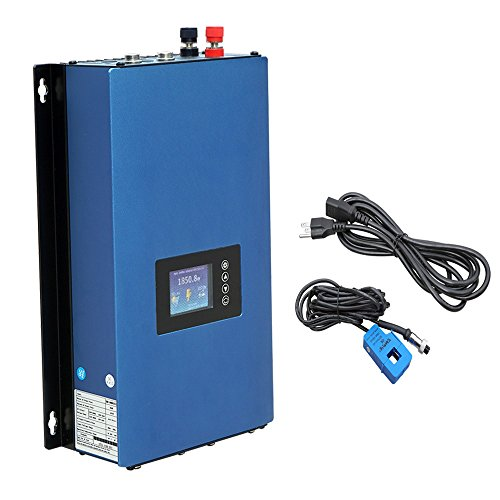 ECO-WORTHY 1KW Auto Switch MPPT Solar Grid Tie Inverter Power Limiter PV System DC 22 to 65V