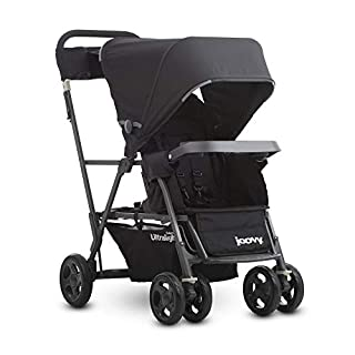 The new Caboose Ultralight Graphite is the most lightweight, compact and efficient double stroller. Designed for two children of different ages, it is preferred by parents for its practicality. With new upgraded features and an even lighter frame, th...
