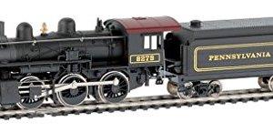 trains Mehano, LOCO Mogul (2-6-0), PRR #8279 Oil-EU/DCC Ready , H0 Scale 41WsFoxOTTL