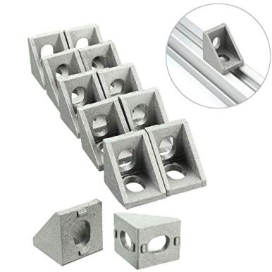 PZRT-12-Pack-Aluminum-Profile-Corner-Bracket20mm-x-20mm-x-17mm-L-Shape-Right-Angle-Joint-Bracket-Fastenerfor-2020-Series-Standard-6mm-Slot-Aluminum-Extrusion-Profile