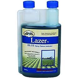 Liquid Harvest Lazer Spray Pattern Indicator Herbicide Dye - Blue Quart 32oz - Perfect Weed Spray Dye, Fertilizer Marking Dye, Turf Mark and Blue Herbicide Marker