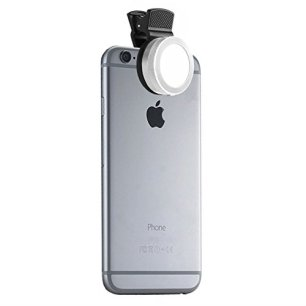 Universal-Clip-On-Mini-LED-Light-Portable-Pocket-Spotlight-for-iPhone-iPad-iPod-Samsung-LG-Motorola-HTC-Nokia-Cell-Phones-and-Tablets-Camera-Video-Light-Chrome