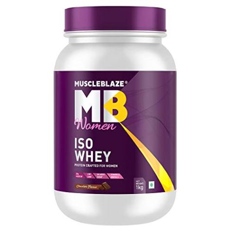 Muscleblaze Women Iso 100% Whey Protein Isolate (Chocolate)