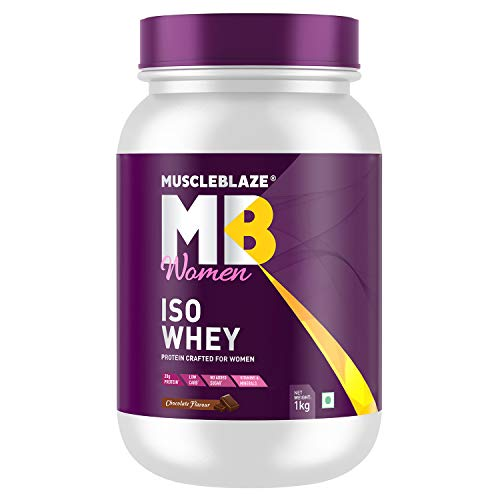Muscleblaze Women Iso 100% Whey Protein Isolate (Chocolate)
