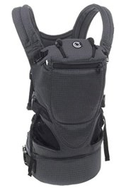 Contours Love 3-in-1 Baby & Child Carrier with 3 Seating Positions, Easy to Wear Front Buckles, Extra-Wide Padded Shoulder Straps, Gray