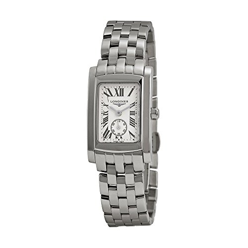 41XD%2BWfCWyL Stainless steel case. Stainless steel bracelet. Silver dial.