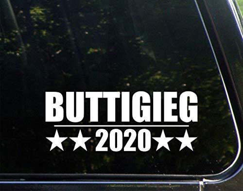 """Sign Depot BUTTIGIEG 2020 - Decal Bumper Sticker 8-3/4"""" x 3-1/2"""""""