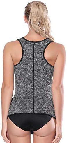 LONGTA Waist Trainer Corset Trimmer Vest for Women Weight Loss,Sauna Body Shaper 3