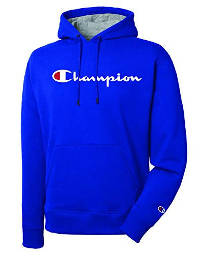 Champion Men's Graphic Powerblend Fleece Pullover Hood 1 Fashion Online Shop 🆓 Gifts for her Gifts for him womens full figure
