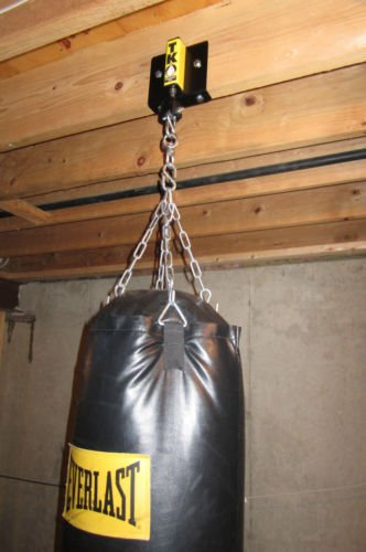 How To Hang A Punching Bag From Ceiling Joists Www