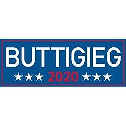 """buttigieg, 2020, I Make Decals ®, mayor, pete, bumper sticker, 3""""x 8"""""""