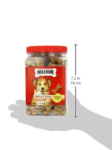 Milk-Bone Soft and Chewy Chicken Bones Treats For Dogs (25 oz) 8