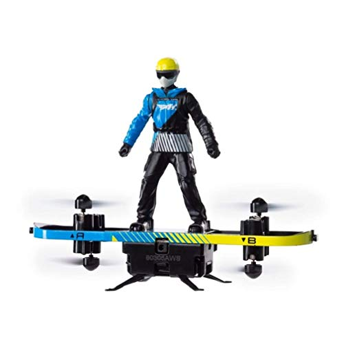 Air Hogs 2-in-1 Extreme Air Board Transforms from RC Stunt Paraglider