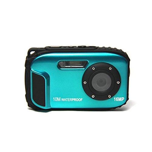 Waterproof Camera,KINGEAR 16 MP Underwater Digital Camera Camcorder