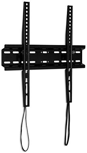 Mount-It! Low Profile TV Wall Mount Fixed TV Bracket for Flat Screens 32 inch - 55 inch LED, LCD, and Plasma Television - 77 lbs Capacity, 1.1' Slim Design, Max VESA 400 x 400 VESA (MI-3050)