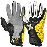 Xprotex Men's Raykr Black/White Batting Glove, Left, Large
