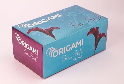 Origami So Soft 2 Ply Face Tissue Box - 200 Pulls (Pack of 3) 3