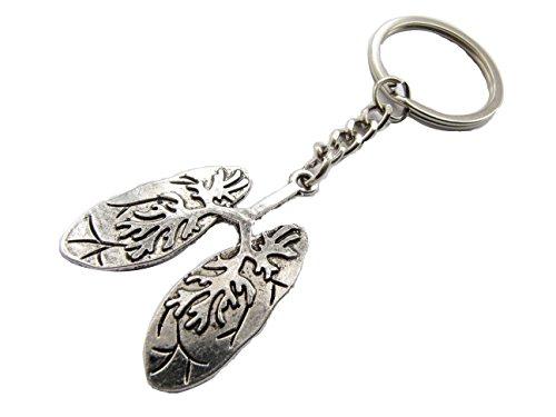 Human Lungs keychain Science keychain Biology keychain Anatomical keychain Anatomy keychain Lungs Jewelry Anatomy Jewelry Biology Gift