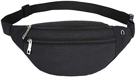 YUNGHE Fanny Pack for Men & Women – Waterproof Waist Bag Pack with Adjustable Strap for Travel Sports Running.