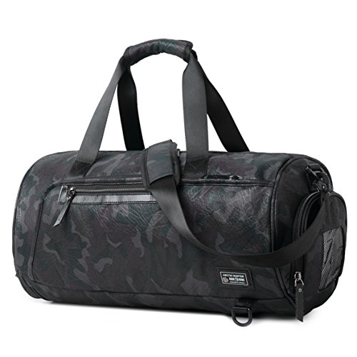 96f648b66 Sports Gym Bag Travel Duffel Backpack for Women and Men Overnight ...