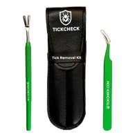TickCheck-Premium-Tick-Remover-Kit-Stainless-Steel-Tick-Remover-Tweezers-Leather-Case-Free-Pocket-Tick-Identification-Card