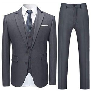 Mens-Stylish-3-Piece-Dress-Suit-Classic-Fit-Wedding-Formal-Jacket-Vest-Pants