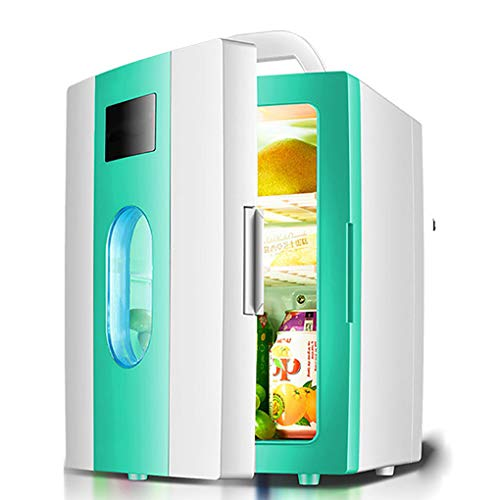 Mini Fridge, Portable Thermoelectric Cooler Warmer, Personal Refrigerator, for Home, Office, Bedroom, Dorm, Car and Outdoor