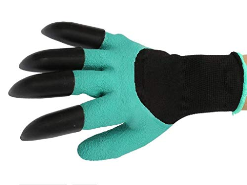 Kayos Garden Gloves with Claws for Digging & Planting 5