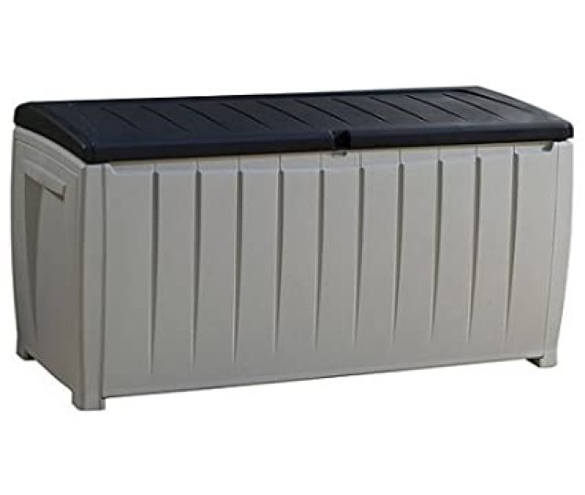 Best Selling Top Rated Plastic Resin Weather Proof 90 Gallon Outdoor Storage Container Bin Box