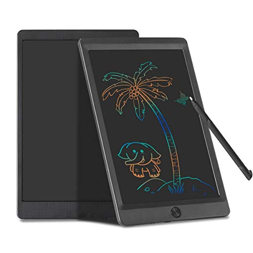 Coxtnbio LCD Writing Tablet Colorful Screen Kids Tablet with Lock Electronic Drawing Tablet Graphics Doodle Board Gifts for Kids & Adults (10 Inch)