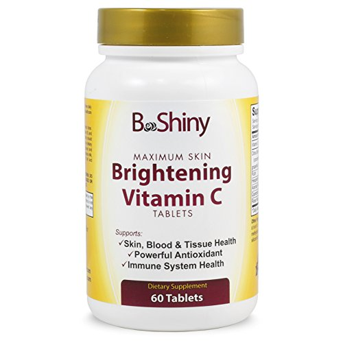 Vitamin C Complex 1000 mg Tablets for Skin Lightening Brightening Antioxidant with Rose Hips and Bioflavinoids Immune Support Supplement Healthy Aging Builds Energy and Overall Well Being