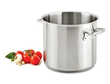 All-Clad-E7507064-Stainless-Steel-Stockpot-24-quart-Silver