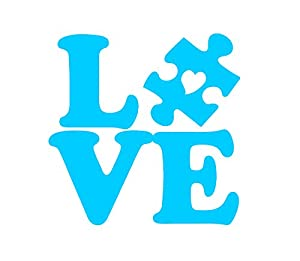 Download Amazon.com: Autism Awareness - Love Puzzle Piece with ...