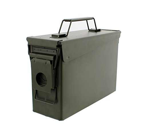 Metal Ammo Case Can – Military and...