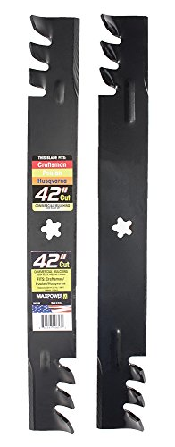 Maxpower 561713XB Commercial Mulching 2-Blade Set for 42
