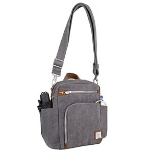 Travelon Anti-Theft Heritage Tour Bag, Pewter - 33074 540 6 Fashion Online Shop Gifts for her Gifts for him womens full figure