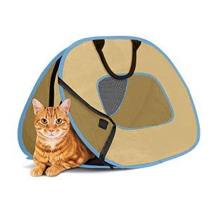 SportPet Designs Cat Carrier With Zipper Lock- Foldable Travel Cat Carrier 7