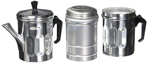 ILSA 30-6 cafetera de espresso neopolitana de 6 tazas, aluminio