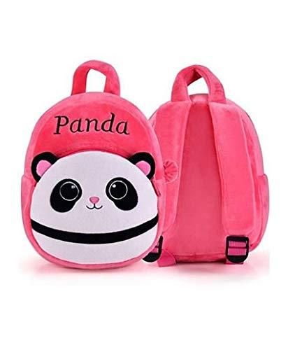 41YStzbjfgL - Black Hill Cute Kids Backpack Toddler Bag Plush Animal Cartoon Mini Travel Bag for Baby Girl Boy 1-6 Years (Pink-Panda)
