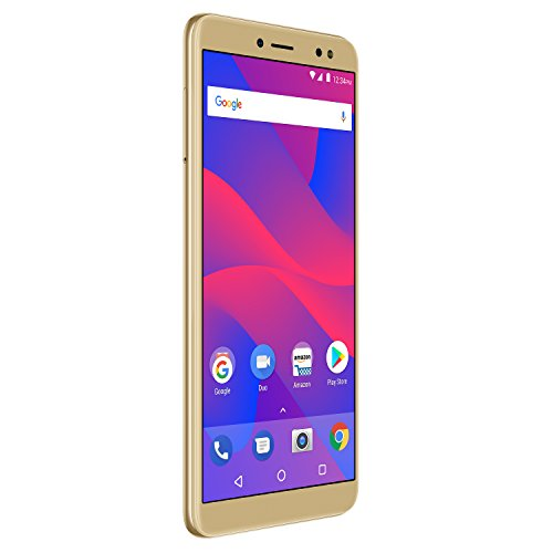 BLU Vivo XL3 -5.5' HD+ 18:9 Display Smartphone with Android 8.0 Oreo -Gold